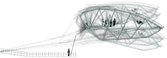 One of the various designs proposed by Tomas Saraceno that will be explored in the frame of this research assignment