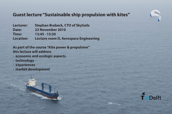 Guest lecture SkySails