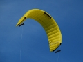 Foilkite 10m2 with rack-and-pinion kite control unit